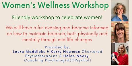 Women - Maintain a balance (body & mind) through Midlife tickets
