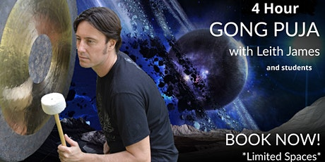 4 Hour Gong Meditation Puja Experience  - Brisbane tickets