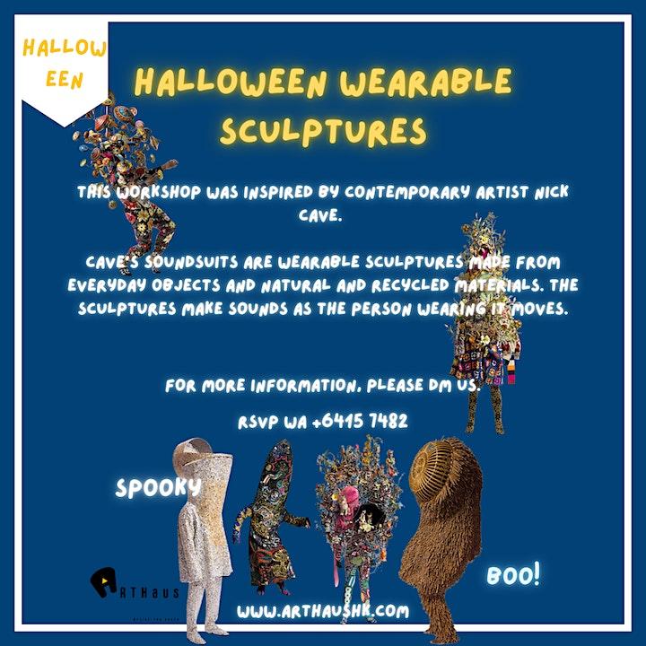 Halloween Wearable Sculptures Workshop image