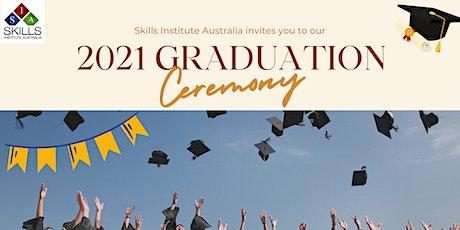 2021 SIA Graduation Ceremony tickets