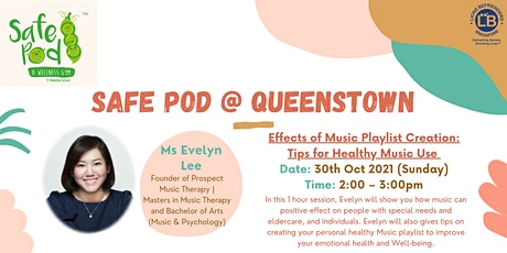Effects of Music Playlist Creation: Tips for Healthy Music Use (Adults) Tickets