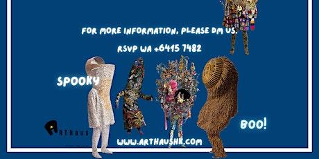 Halloween Wearable Sculptures Workshop tickets