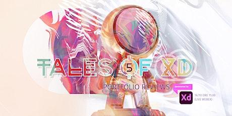 Tales of Adobe XD 5: Portfolio Reviews biglietti