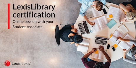 LexisLibrary Foundation Certification Session tickets