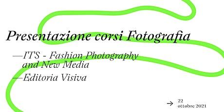 Presentazione corsi  di Fotografia biglietti