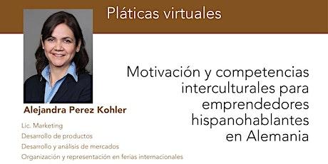 Webinario: Motivación y competencias interculturales para emprendedores entradas