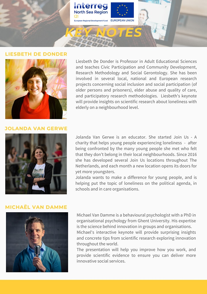Mid-term conference | I2I From Isolation to Inclusion image