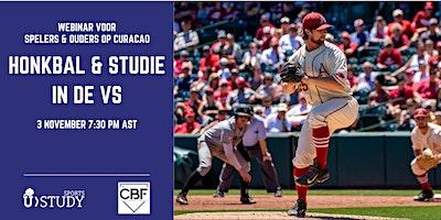 Gratis webinar Honkbal & Studie  in de VS – spelers en ouders Curaçao