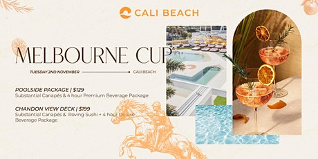 MELBOURNE CUP AT CALI BEACH tickets