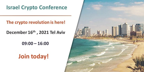 Israel Crypto conference tickets