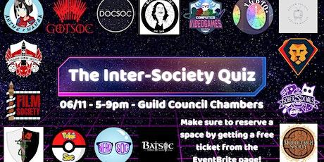 Inter-Society Quiz 2021-2022 tickets
