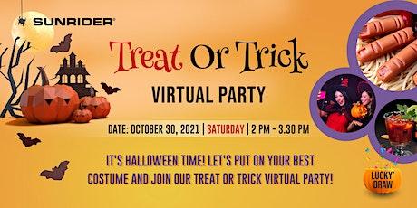 """Treat or Trick"" Halloween Virtual Party - 30 October 2021 biglietti"