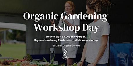 Organic Gardening Workshop Day tickets