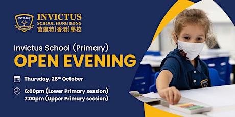 Invictus School (Primary) Open Evening - 28 Oct 2021 tickets