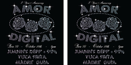 AMOR DIGITAL 3 YEAR ANNIVERSARY | CLUB MUSIC FROM THE AMERICAS tickets