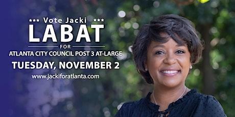 """JACKI FOR ATLANTA"" ELECTION NIGHT WATCH PARTY tickets"