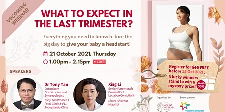 What to Expect in the Last Trimester? tickets