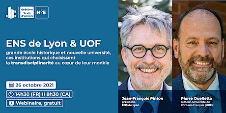 Trait d'union  I ENS de Lyon & UOF billets