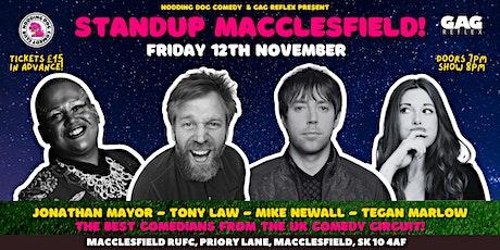 Standup Macclesfield! tickets