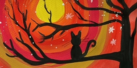 Halloween Painting with White Doodle Workshops: Ages 9-12 tickets
