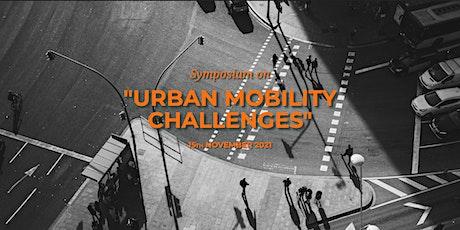 VII Symposium on Urban Mobility Challenges entradas