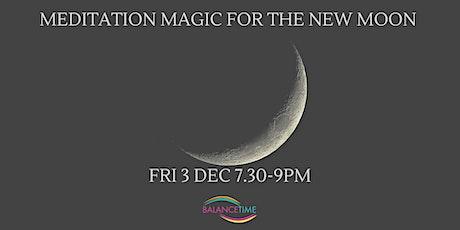 New Moon Meditation Magic tickets