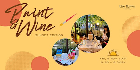 Paint and Wine: Sunset Edition tickets