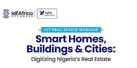 IoT Real Estate Webinar tickets