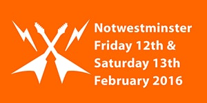 Notwestminster 2016