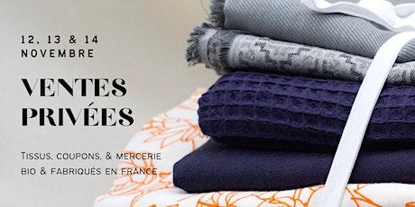 Ventes Privées Tissus bio & Fabriqués en France billets