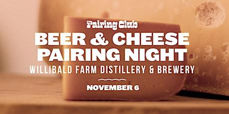 Beer & Cheese Pairing Night - ft. Willibald tickets