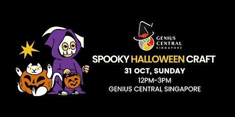Spooky Halloween Crafts tickets