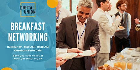 Digital Union Breakfast Networking tickets