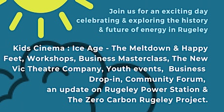 Rugeley Community Energy & Heritage Day tickets