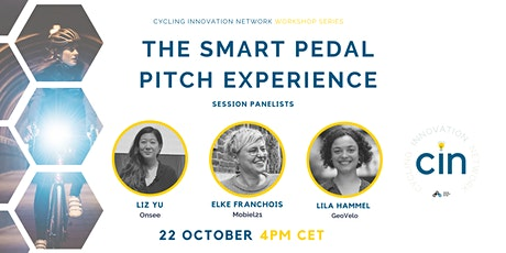 CIN Webinar: The Smart Pedal Pitch Experience tickets