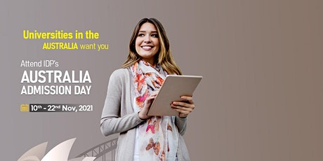 Attend Australia Admission Day  in Amritsar : 10th - 22nd Nov 2021 tickets