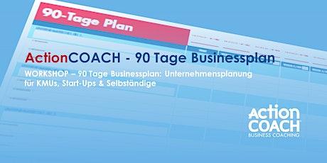 90-Tage Businessplan - I/2022 billets
