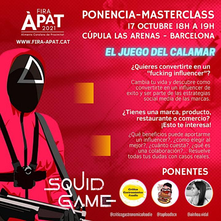 Imagen de El Juego del Calamar - Menú Gastronómico a 4 manos - Ponencia MasterClass