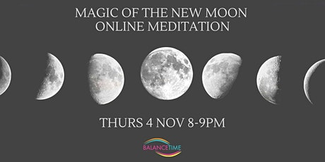 New Moon Meditation - Online tickets