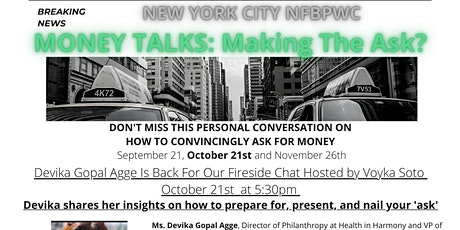 Money Talks Series: Panel 2: Making the  Ask tickets