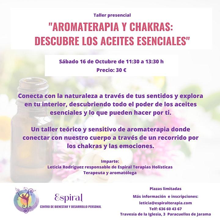 """Imagen de Taller """"Aromaterapia y chakras: Descubre los aceites esenciales"""""""