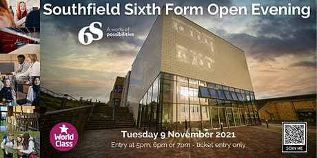 Southfield Sixth Form Open Evening tickets