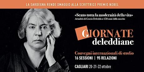 Giornate deleddiane. Convegni internaz. di studio. Cagliari, 5° sessione biglietti