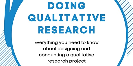 Doing Qualitative Research tickets