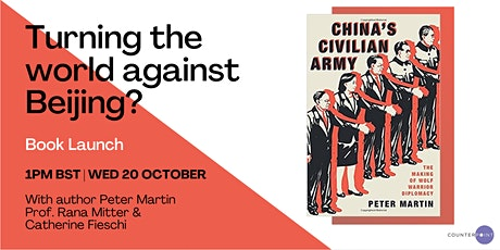 Book Launch: Turning the World Against Beijing? tickets