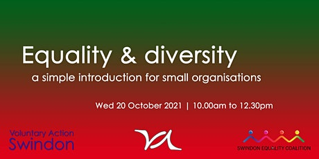 Equality and diversity - an intro for voluntary groups and organisations tickets