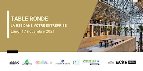 Table Ronde La Cité - La RSE dans votre entreprise billets