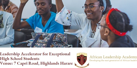 Leadership Accelerator for Exceptional High School Students tickets