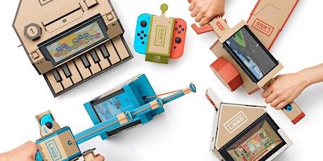 Bouwen met Nintendo LABO tickets