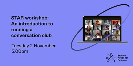 STAR workshop: an introduction to running a conversation club tickets